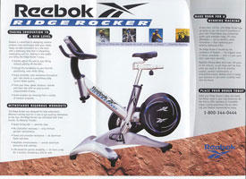 Reebok CCS Fitness – Business-to-Business Direct Mail Package