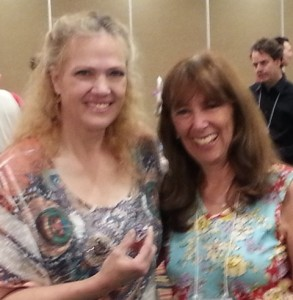 Lori Ruff and Debra Jason