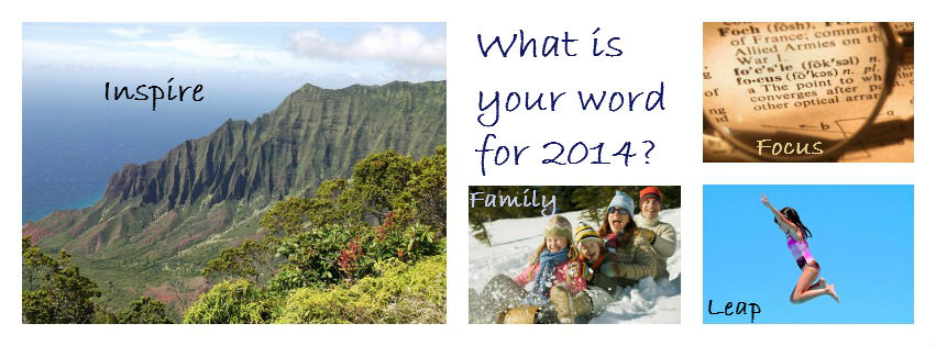 What is your word for 2014?