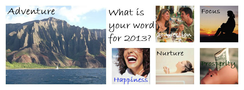 What's your word for 2013?