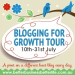 Blogging for Growth Tour